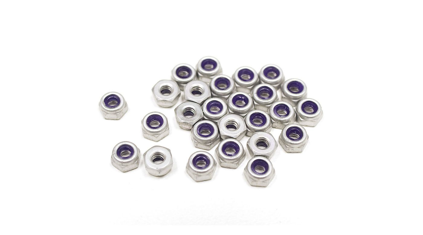 Image for Pro4mance 5-40 Aluminum Nut (26): TLR, Losi SCTE from HorizonHobby
