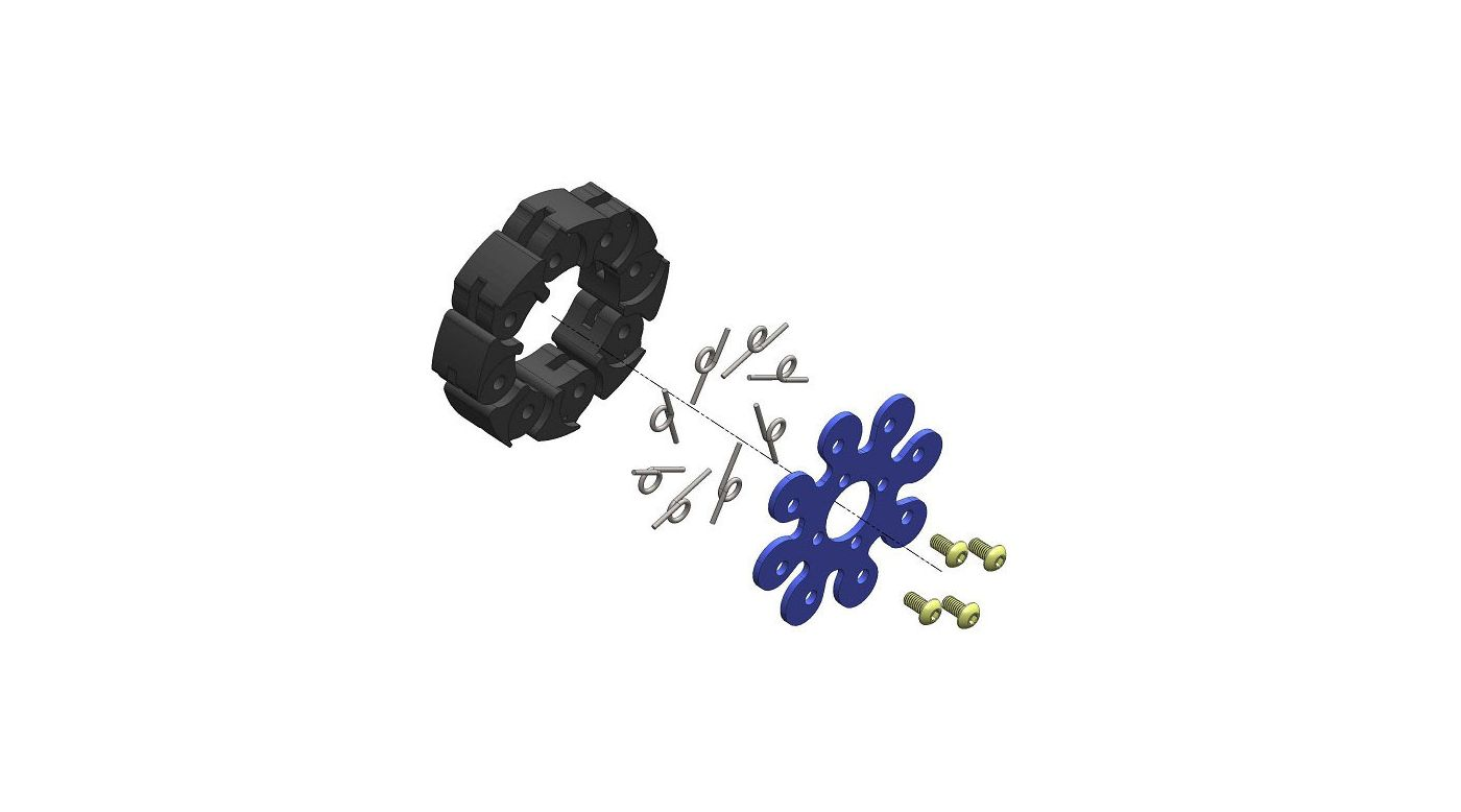 Image for 1/5 54mm Racing Clutch Rebuild Kit from HorizonHobby