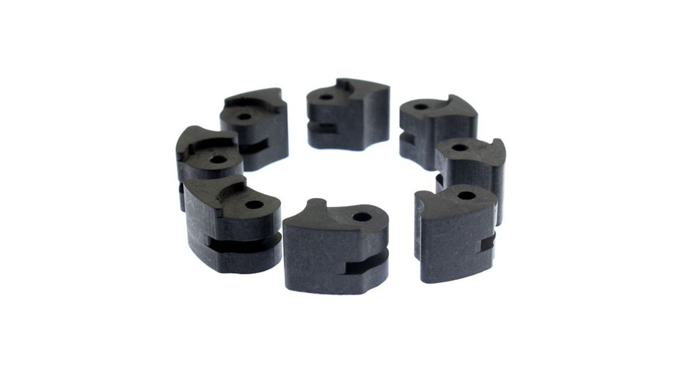 Image for 1/5 54mm Racing Clutch Shoes (8) from HorizonHobby