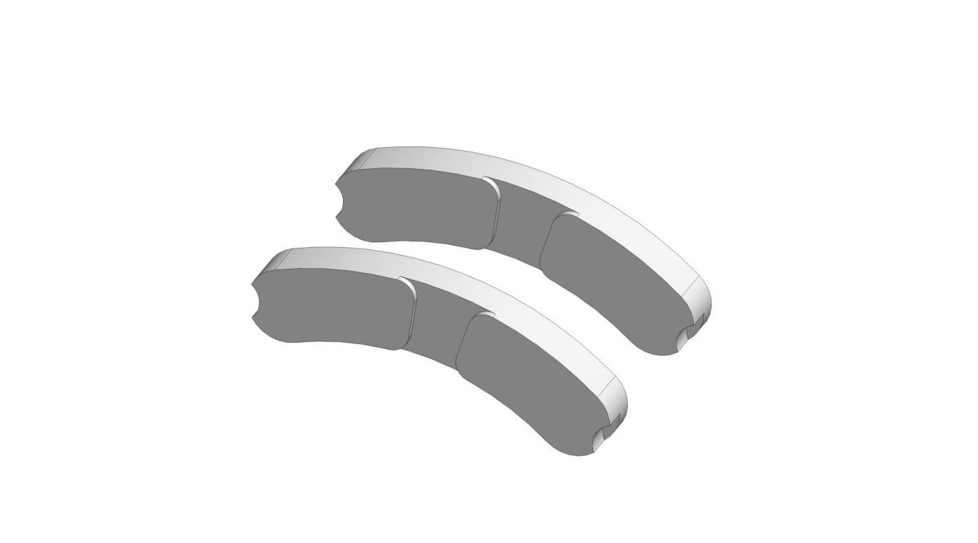 Image for 1/5 Real Brakes Pads (4): 5IVE-T from HorizonHobby