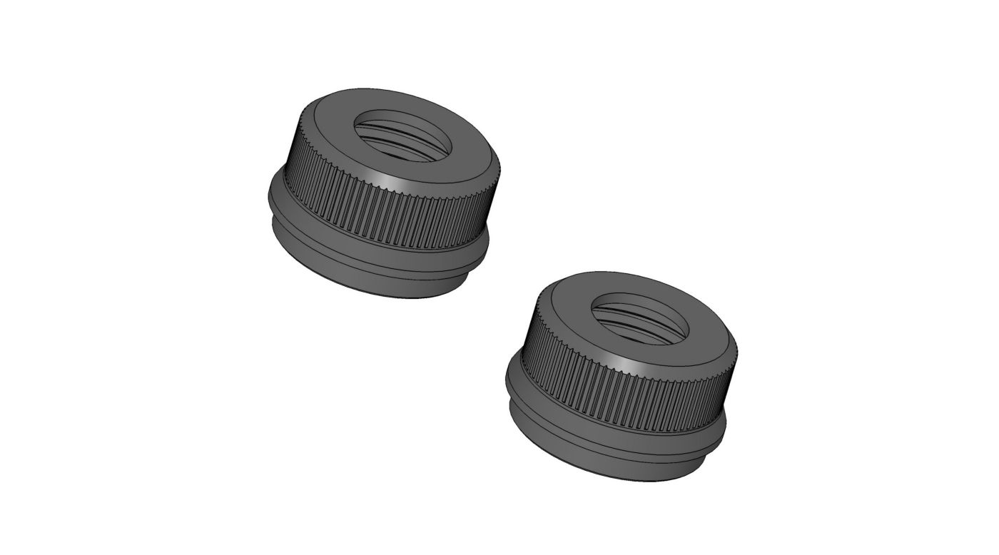 Image for 1/5 32mm Big Bore Shock Cartridge Cap (2): 5IVE-T from HorizonHobby