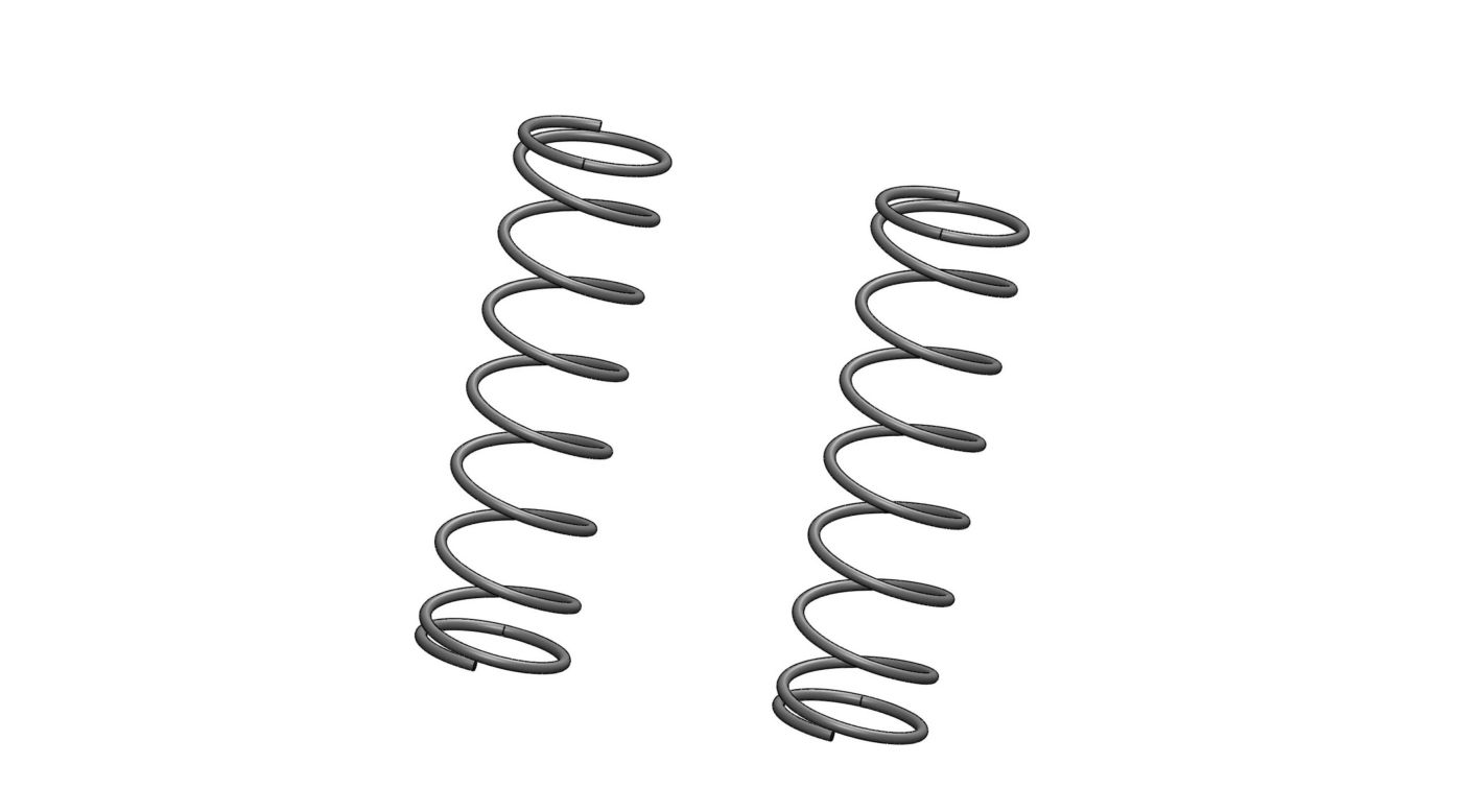 Image for 1/5 32mm Big Bore Shock Spring, Rear, 10lb Gray (2): 5IVE-T from HorizonHobby