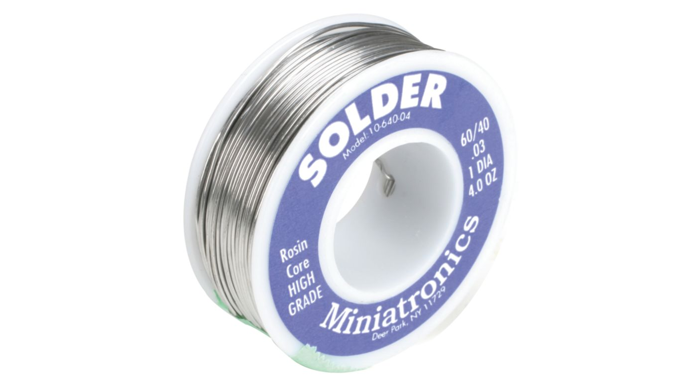 Image for Rosin Core Solder 60/40, 4oz from HorizonHobby