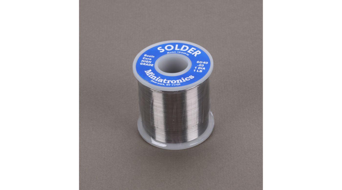Image for Rosin Core Solder 60/40, 1 lb from HorizonHobby