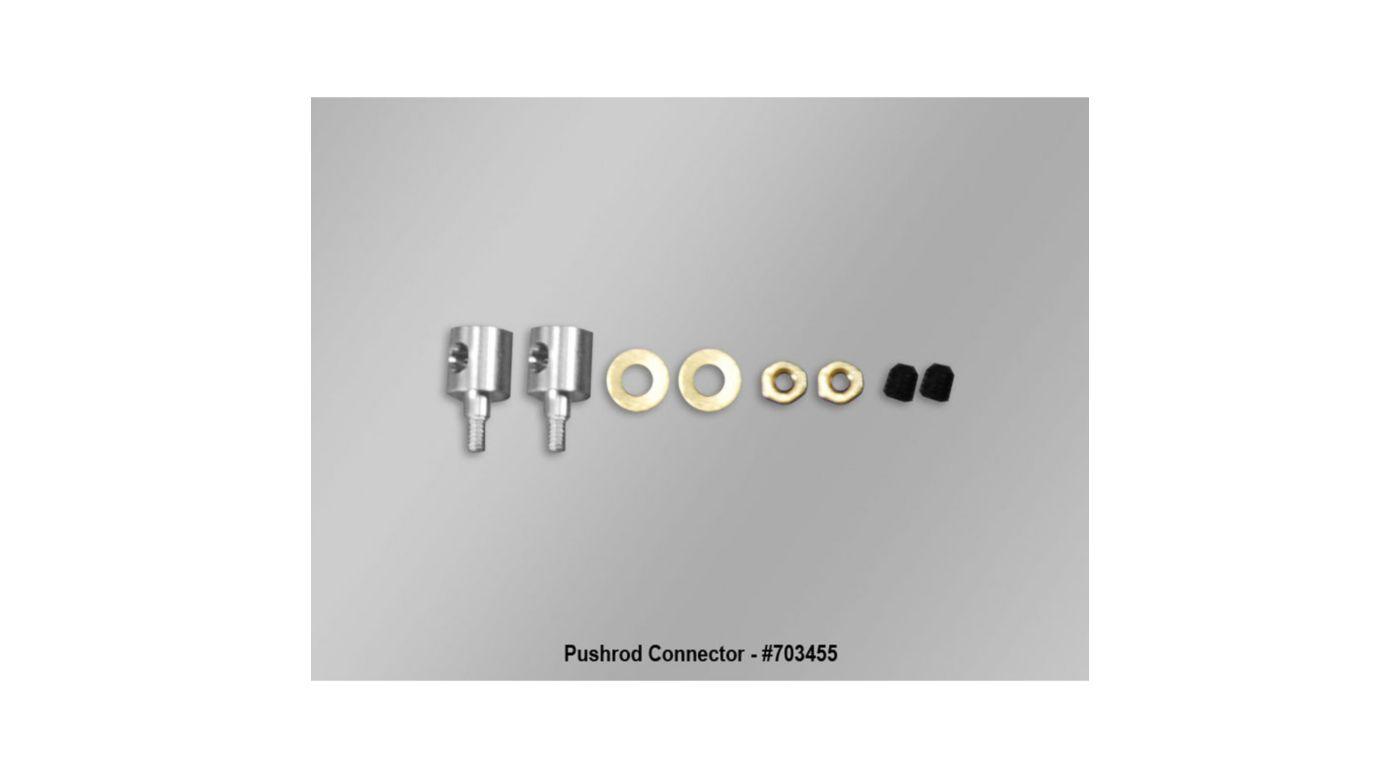 Image for Swivel Lock Pushrod Connector: Fun Cub from HorizonHobby