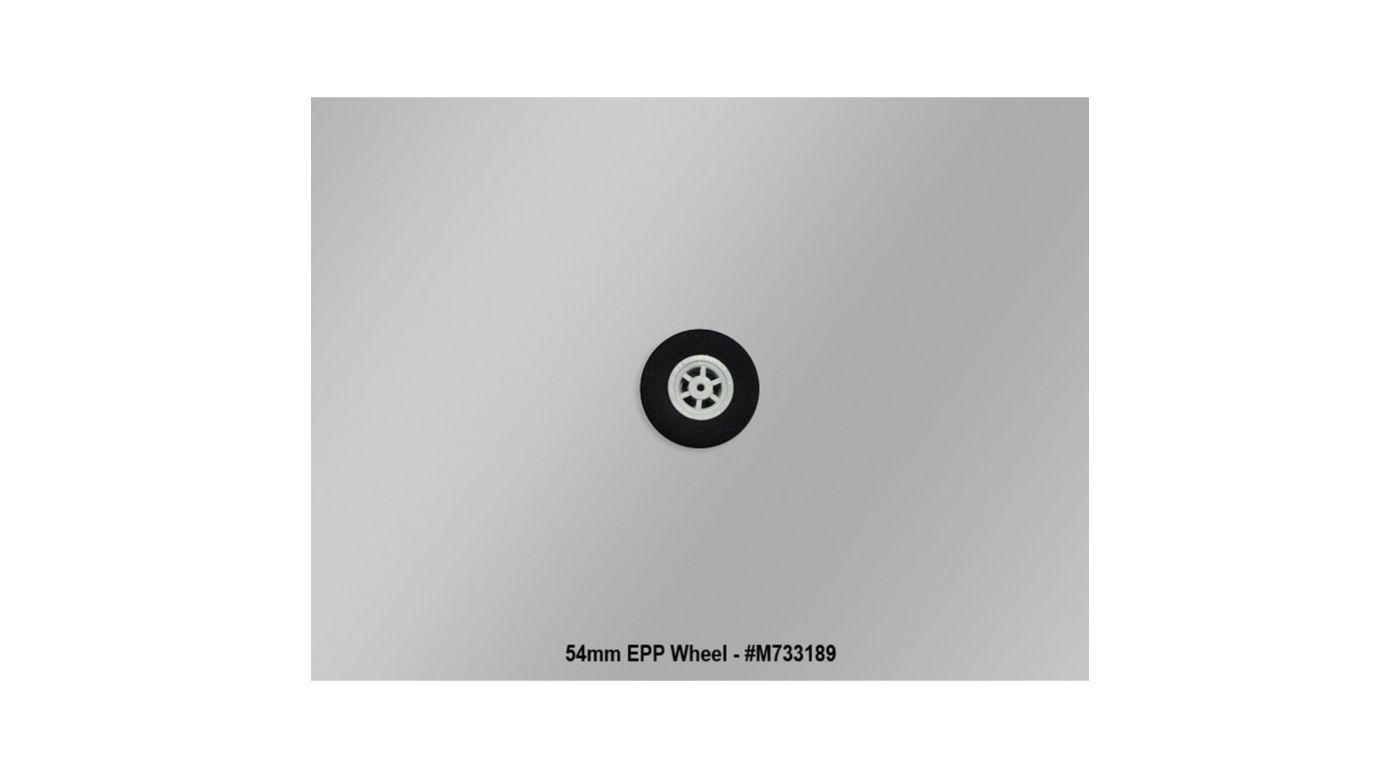 Image for 54 mm EPP Wheels 1.6mm Bore (1 Pair): Fun Cub from HorizonHobby