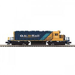 MTH 20-21169-1 O-27 SD40-2 w/PS3 ONT #1733