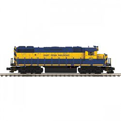 MTH 20-21226-1 O-27 GP38-2 w/PS3 Hi-Rail East Penn Railroad #2801