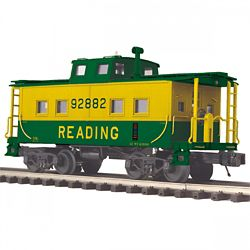 MTH 2091653 O Center-Cupola Steel Caboose 3-Rail Ready to Run Premier Reading 92882 507-2091653
