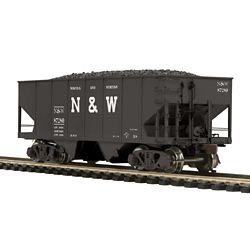 MTH8097095 MTH Electric Trains HO 55T Stl Twn HopN&W #87280 507-8097095