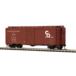 MTH8574146 MTH Electric Trains HO PS-1 40' BOX C&O #4246 507-8574146