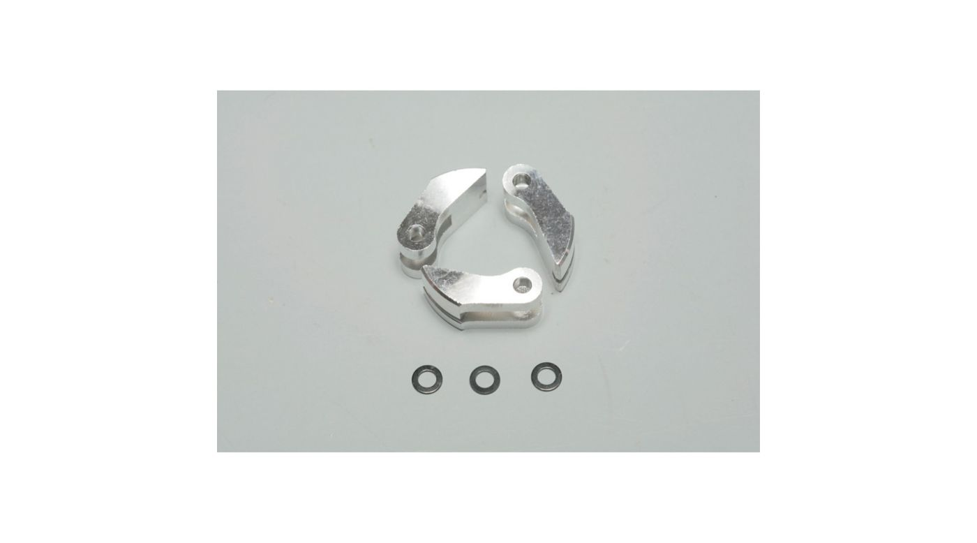 Image for Clutch Shoe, Alum (3pc): MBX5/R/X5T/6 from HorizonHobby