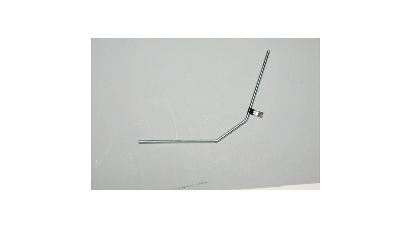 Image for Front Anti-Roll Bar 2.6mm: X6 from HorizonHobby