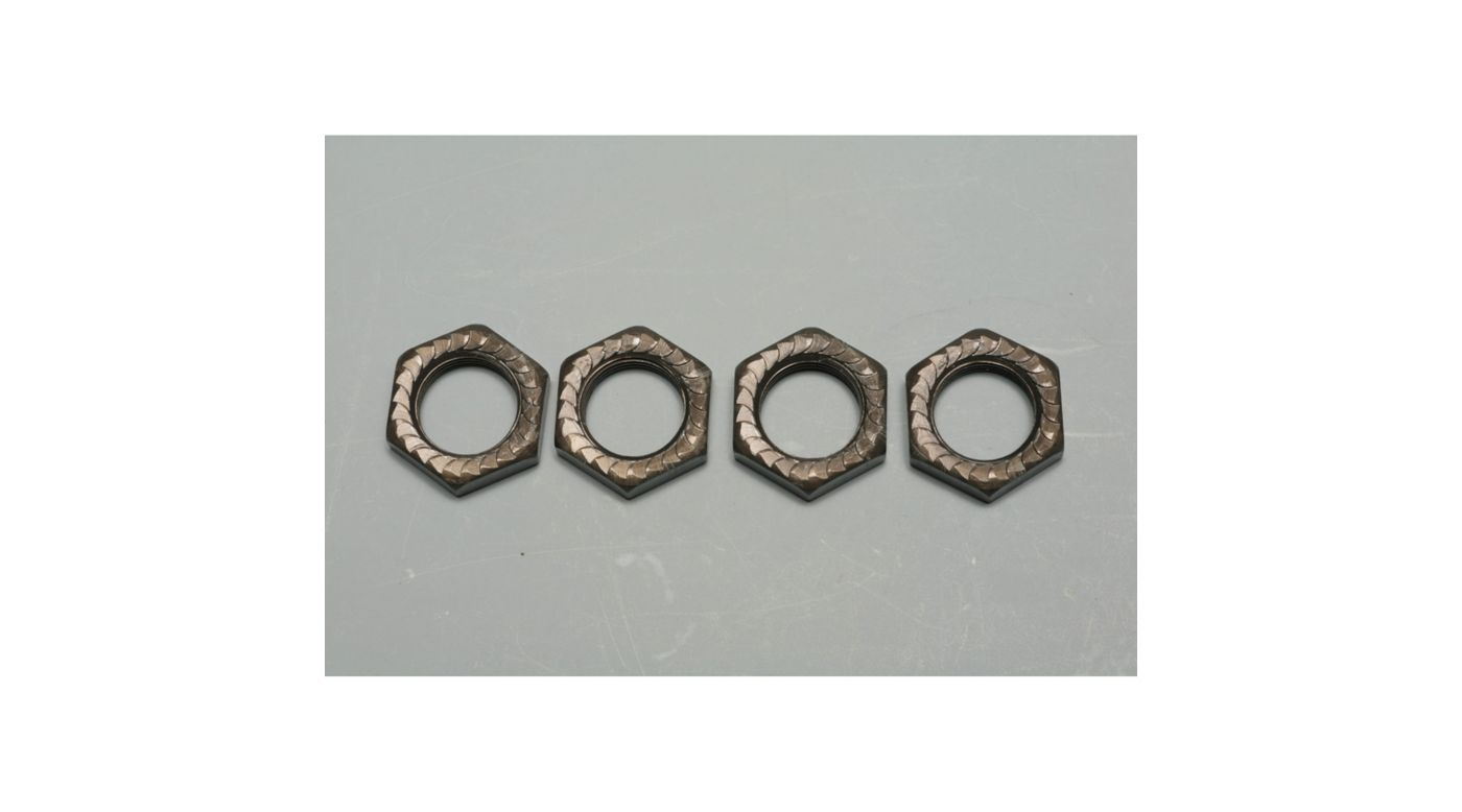 Image for Self Locking Wheel Nuts (4): MBX5R, MBX5T from HorizonHobby