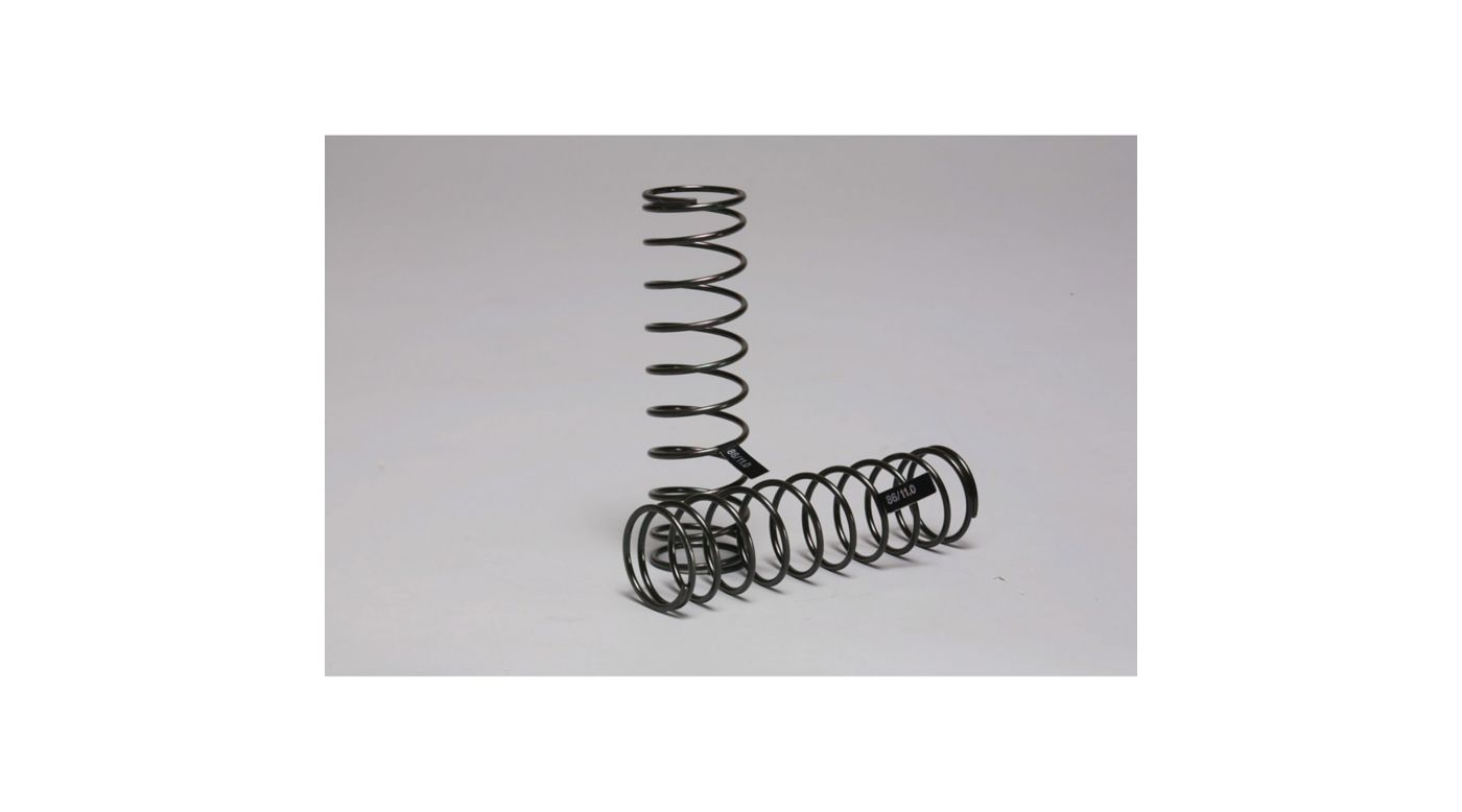 Image for Rear Damper Spring 1.6/11T Super Soft: X6 from HorizonHobby