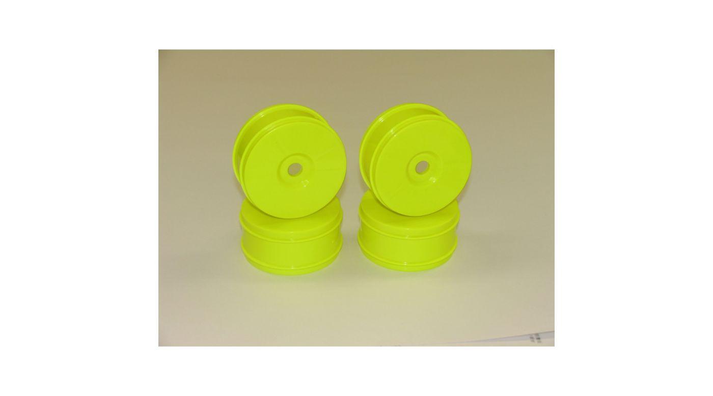 Image for Buggy Wheel LD Yellow: X6 (4) from HorizonHobby