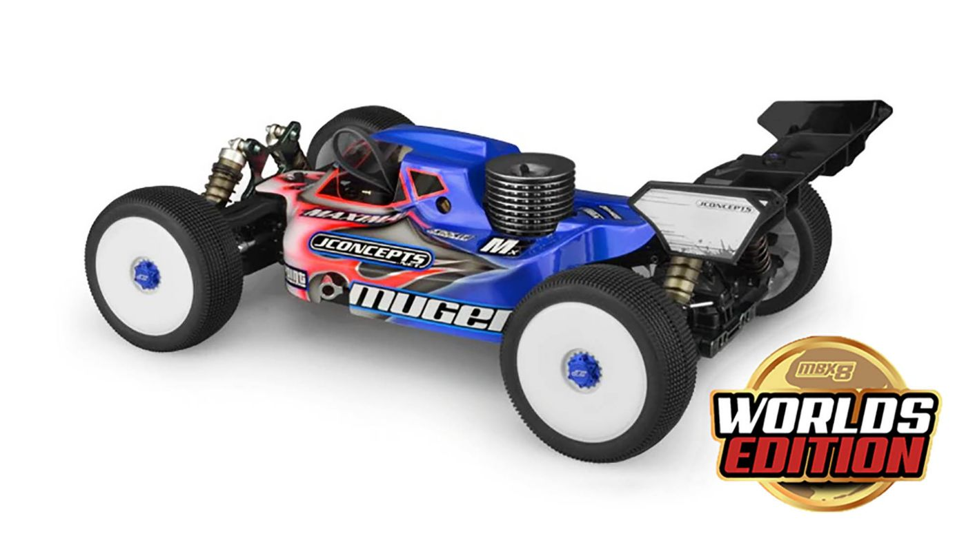 Image for MBX8 World's Edition 1/8 Nitro Buggy Kit from HorizonHobby