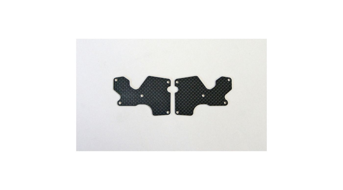 Image for Graphite 1.2mm Rear Lower Suspension Arm Mount Plate (2): X8 from HorizonHobby