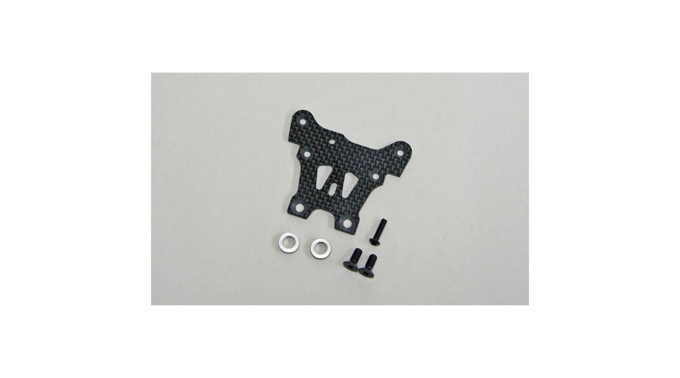 Image for Graphite Front Upper Steering Plate: X8 from HorizonHobby
