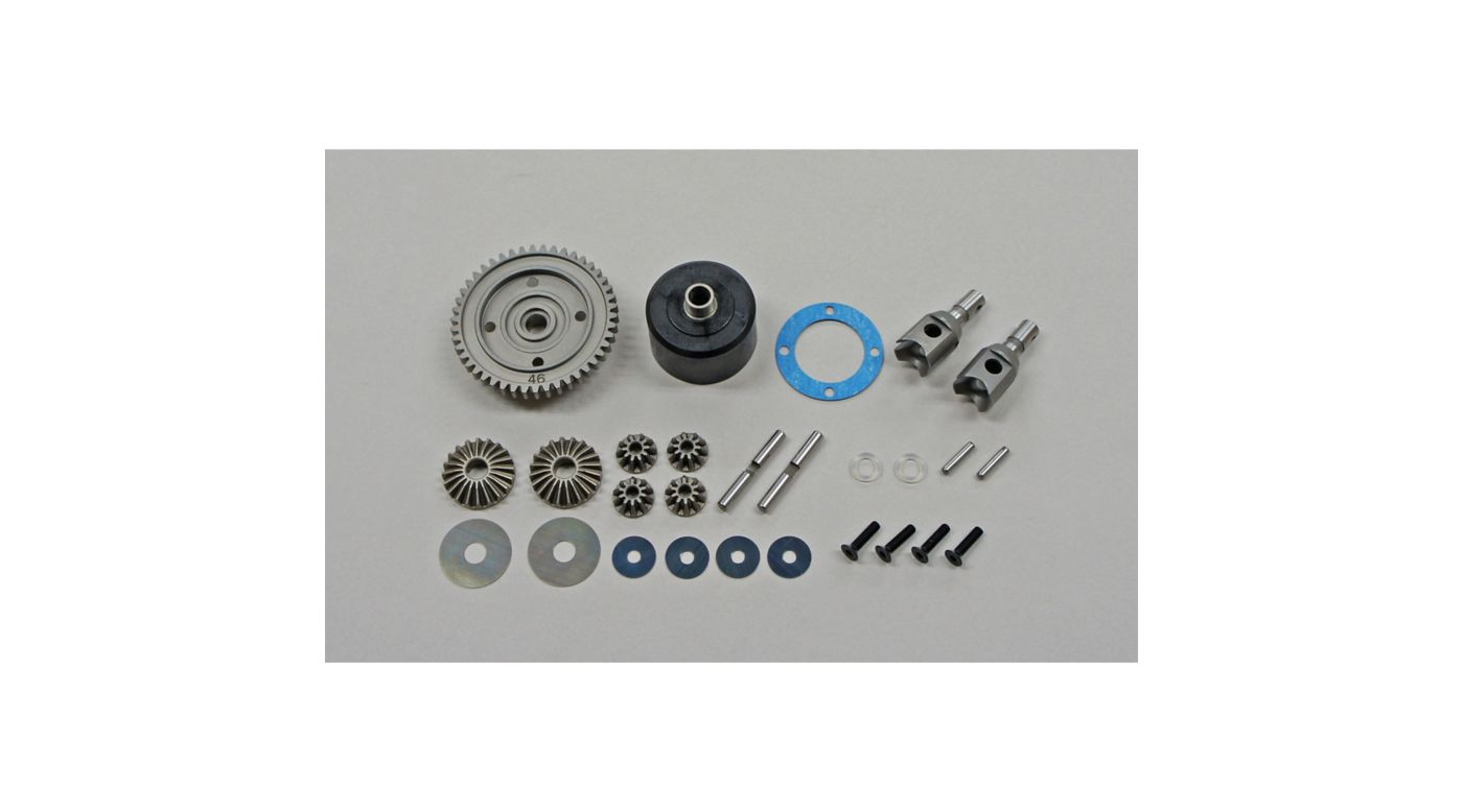 Image for HTD 46T Center Differential Set: X8, X7 from HorizonHobby