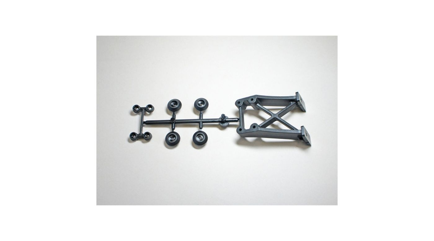 Image for Rear Wing Stay Spacer, +15: X8 E X8T E from HorizonHobby
