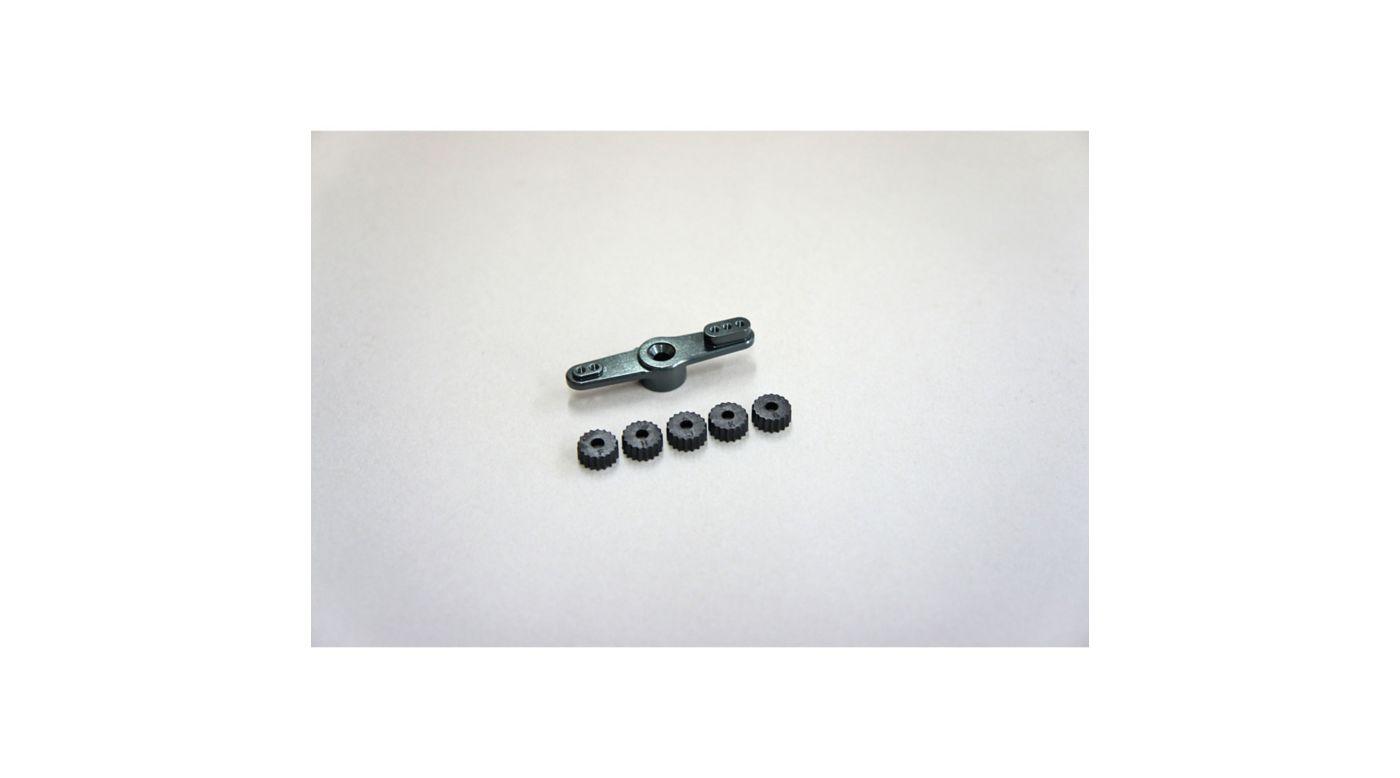 Image for Aluminum Throttle Servo Horn: X8, X7 from HorizonHobby