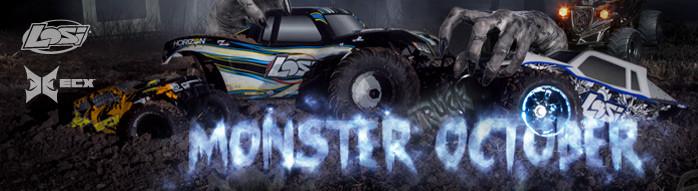 This Halloween crush the haunts with amazing Monster Trucks