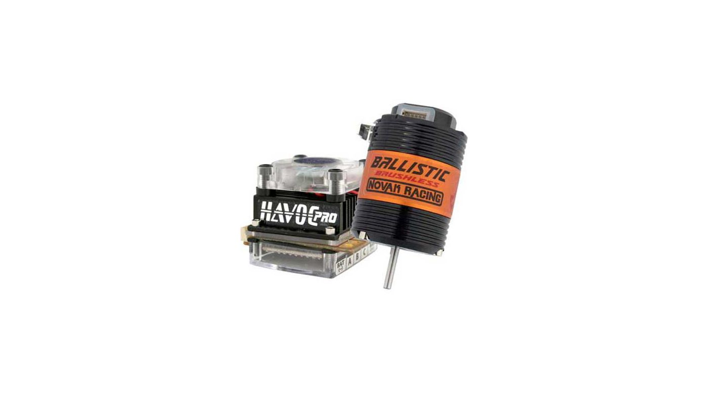 Image for Havoc Pro/Ballistic Brushless System: 13.5T/3300Kv from HorizonHobby