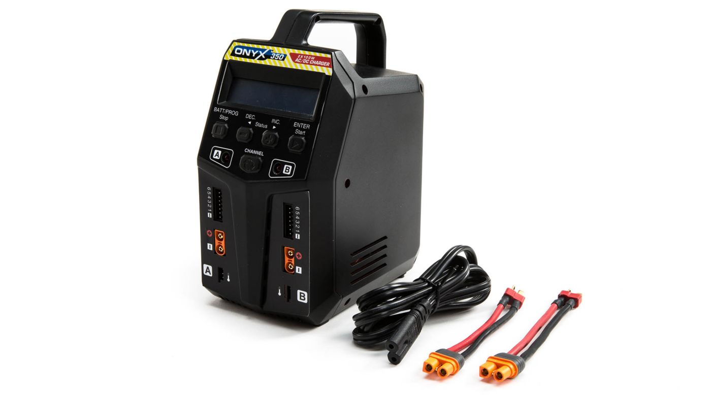Image for Onyx 350 AC/DC 2 x 100 Charger from HorizonHobby