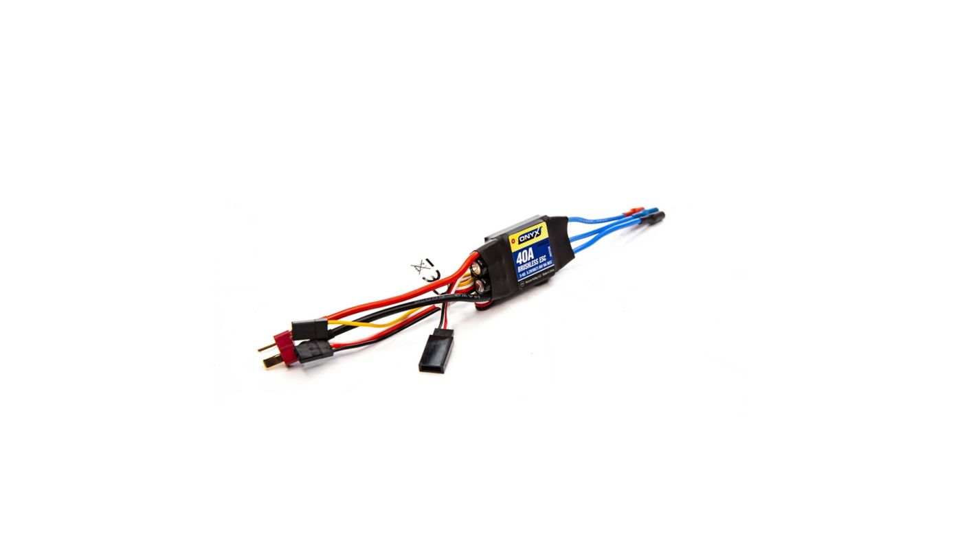 Image for 40A 2-6S Programmable Brushless Air ESC from HorizonHobby