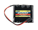Onyx - 4.8V 2000mAh NiMH AA Flat Receiver Battery: Universal Receiver