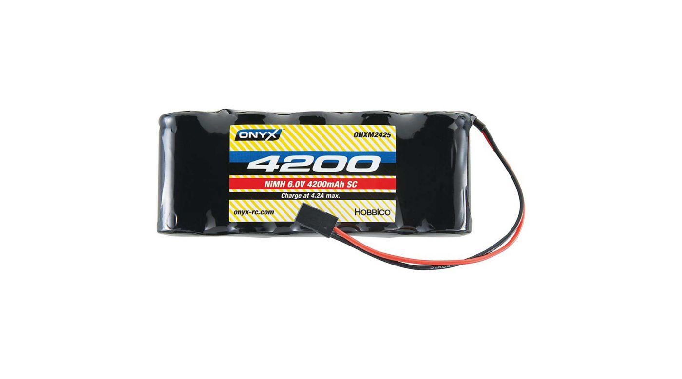 Image for 6.0V 4200mAh Sub-C NiMH Flat Receiver Battery: Universal Receiver from HorizonHobby