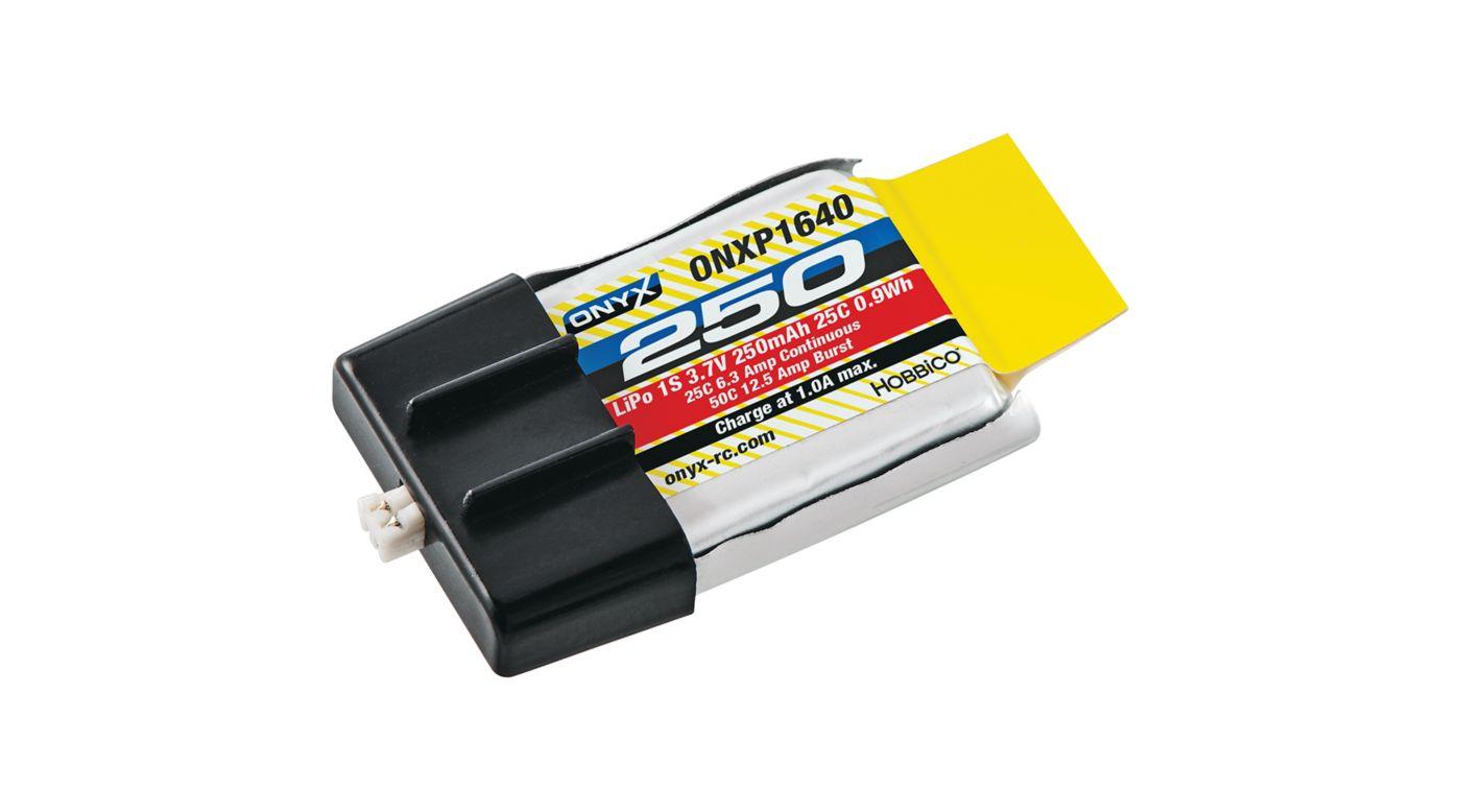 Image for 3.7V 250mAh 25C 1S LiPo: Ultra Micro 51021 Plug from HorizonHobby