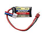 ONYX - 7.4V 250mAh 2S25C LiPo: Micro Plug