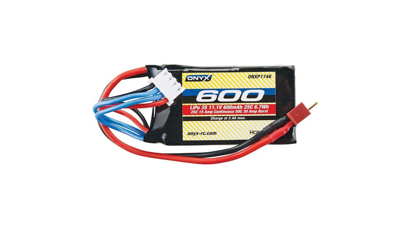 Image for 11.1V 600mAh 25C 3S LiPo: Micro Plug from HorizonHobby