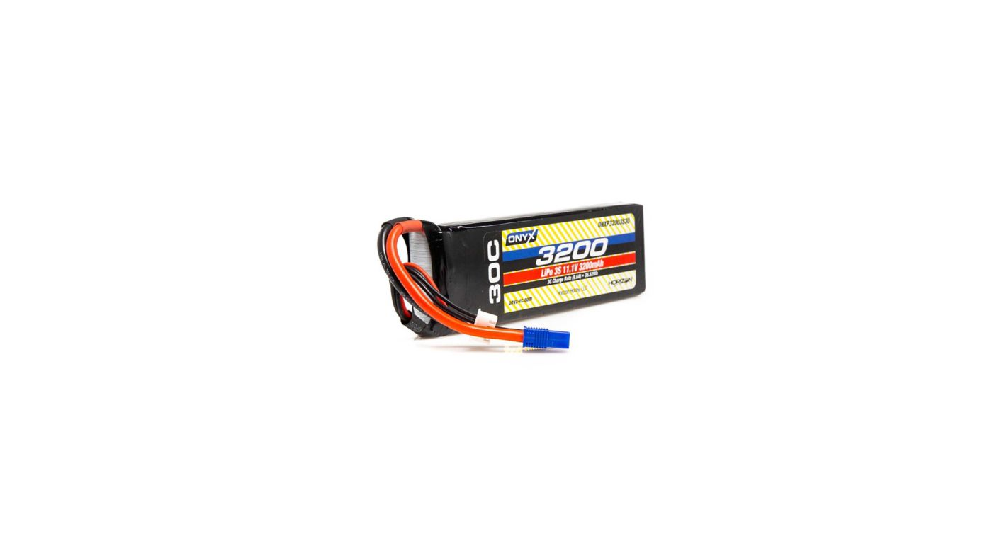 Image for 11.1V 3200mAh 3S 30C LiPo Battery: EC3 from HorizonHobby
