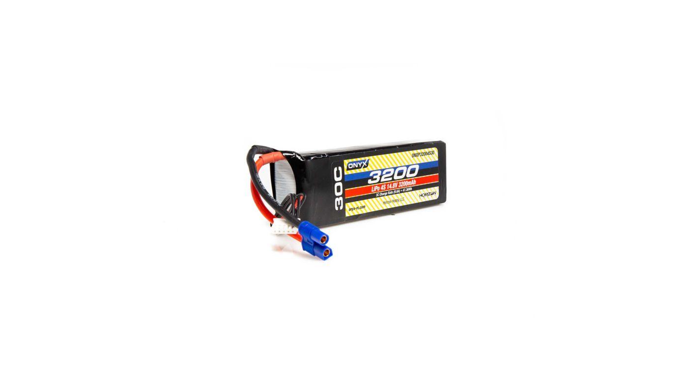 Image for 14.8V 3200mAh 4S 30C LiPo Battery: EC3 from HorizonHobby
