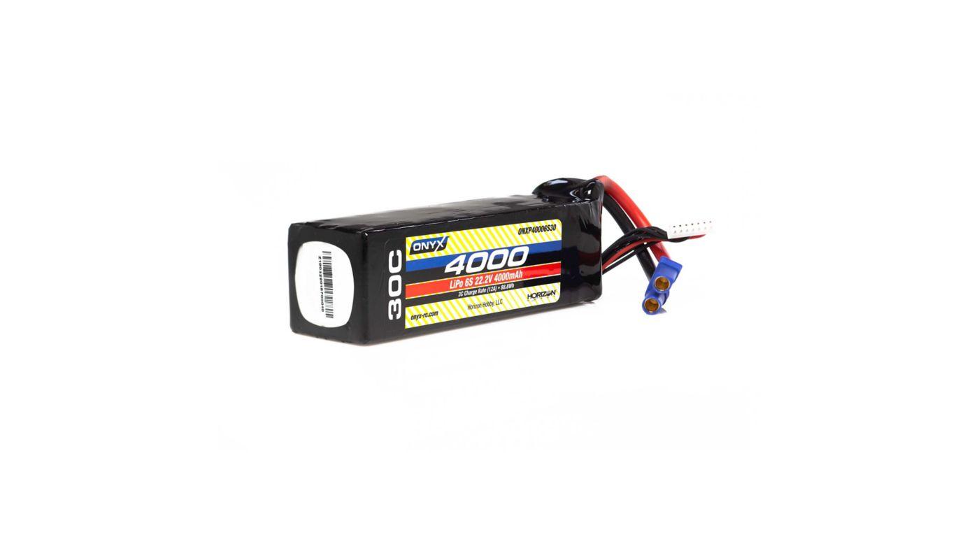 Image for 22.2V 4000mAh 6S 30C LiPo Battery: EC5 from HorizonHobby