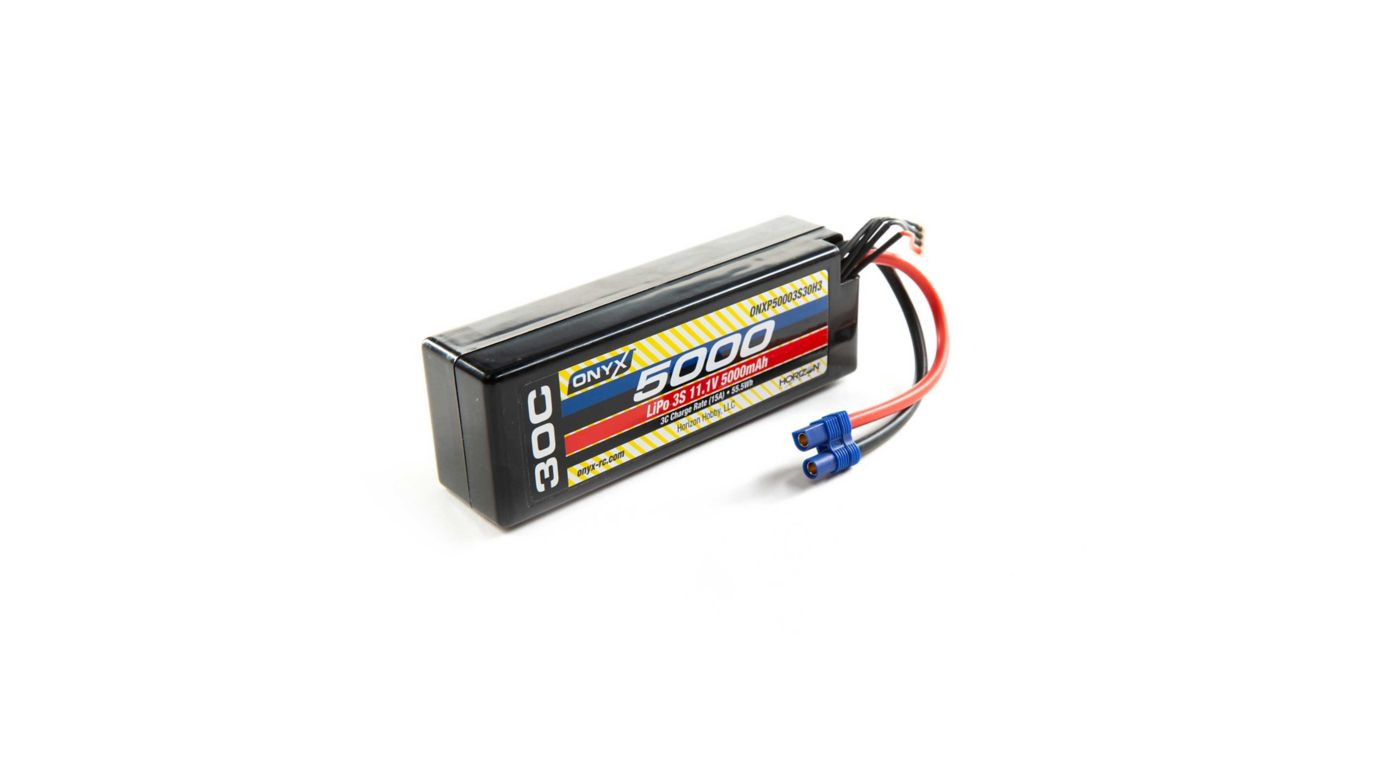 Image for 11.1V 5000mAh 30C 3S Hardcase LiPo Battery: EC3 from HorizonHobby