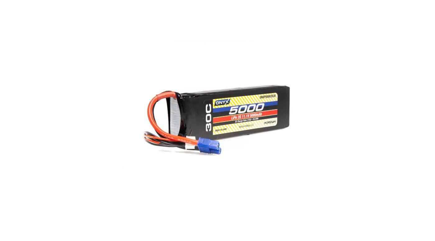 Image for 11.1V 5000mAh 3S 30C LiPo Battery, EC3 from HorizonHobby