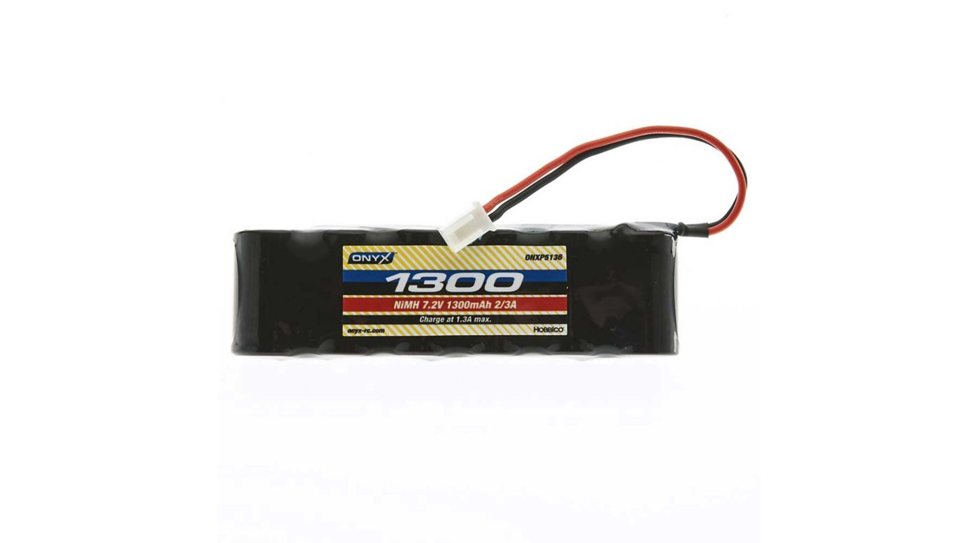 Image for 7.2V 1300mAh 2/3A NiMH Flat: Mini Plug from HorizonHobby