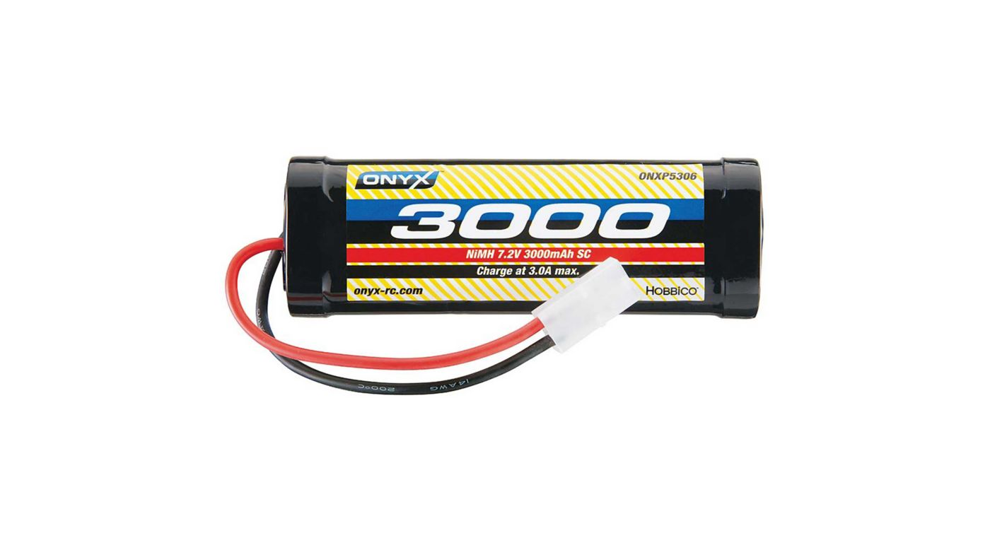 Image for 7.2V 3000mAh 6-Cell Sub-C Stick NiMH Battery: Tamiya Connector from HorizonHobby