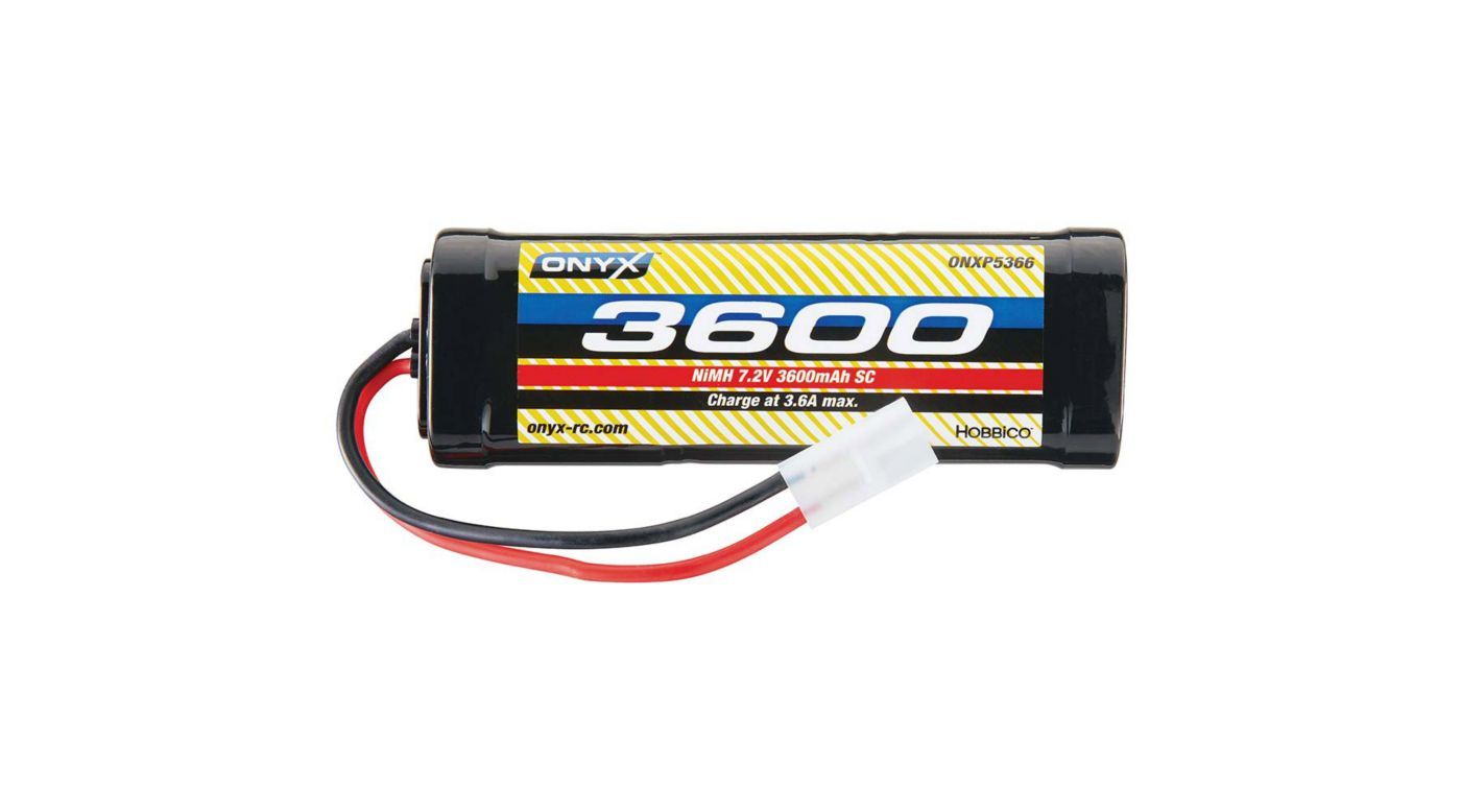 Image for 7.2V 3600mAh 6-Cell Sub-C Stick NiMH Battery: Tamiya Connector from HorizonHobby