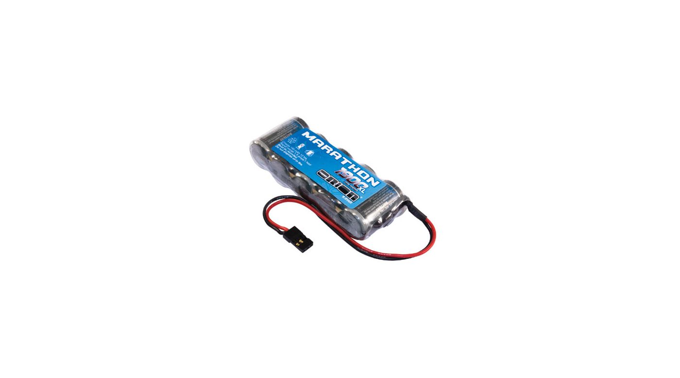 Image for Marathon XL 1900mAh NiMH 5C Flat Rx Pack with Univ from HorizonHobby
