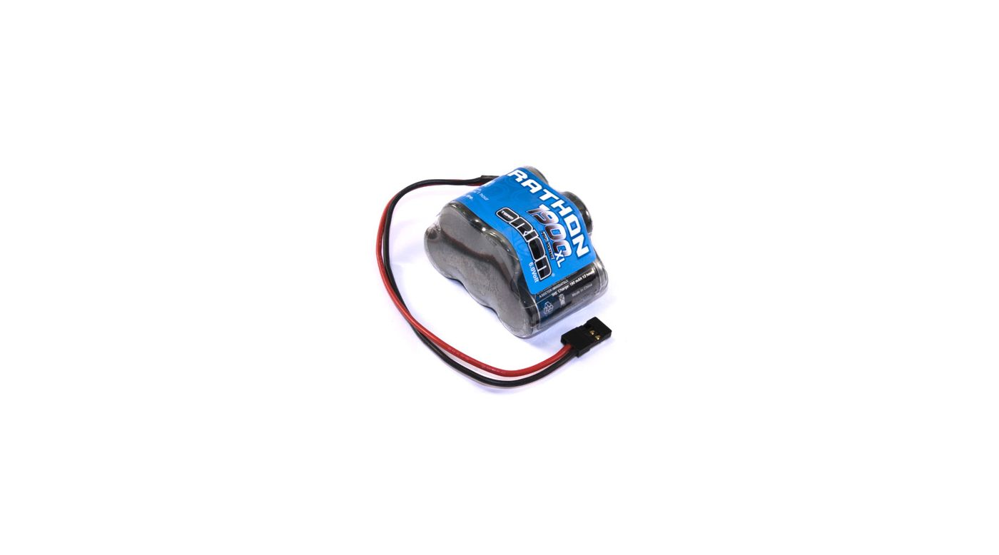 Image for Marathon XL 1900mAh NiMH 5C Hump Rx Pack with Univ from HorizonHobby