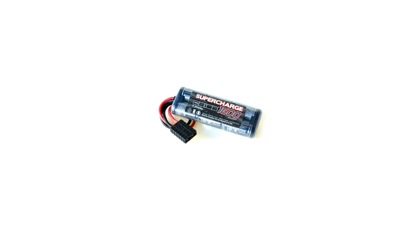 Image for 7.2V 1600mAh NiMH Supercharge with Traxxas Connector from HorizonHobby