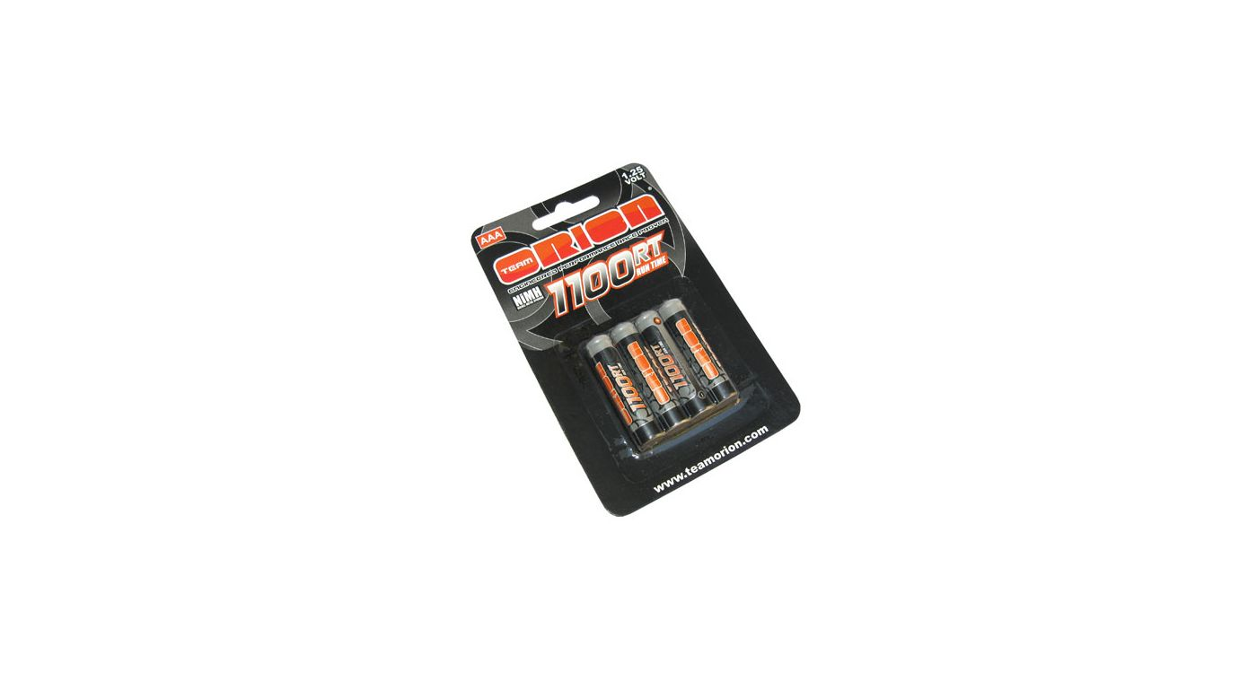 Image for 1.25V 1100mAh NiMH AAA Batteries (4) from HorizonHobby