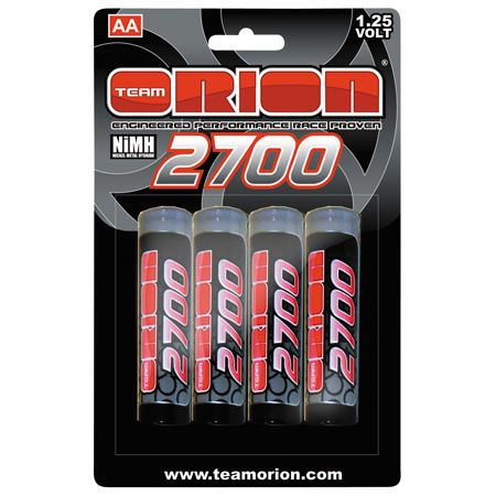 image for 125v 2700mah nimh aa batteries 4 from