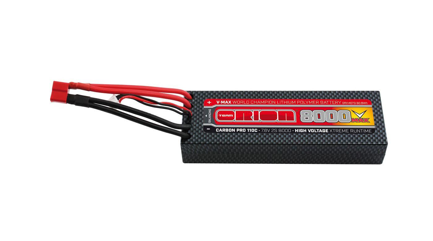 Image for Carbon Pro V-Max 7.6V 8000mAh 110C 2S LiPo, Deans from HorizonHobby