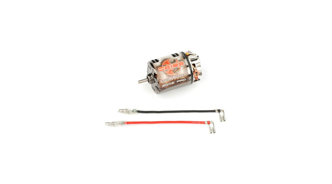Image for Method Pro Brushed Motor, 20T from HorizonHobby
